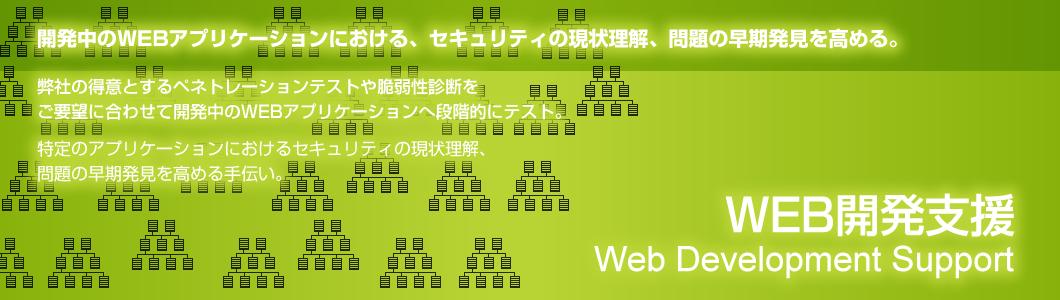 WEBアプリケーション開発のセキュリティコンサルティングの詳細ページへ